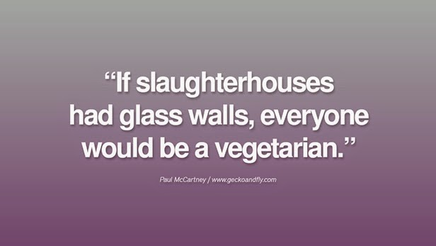 Quote on Vegetarianism