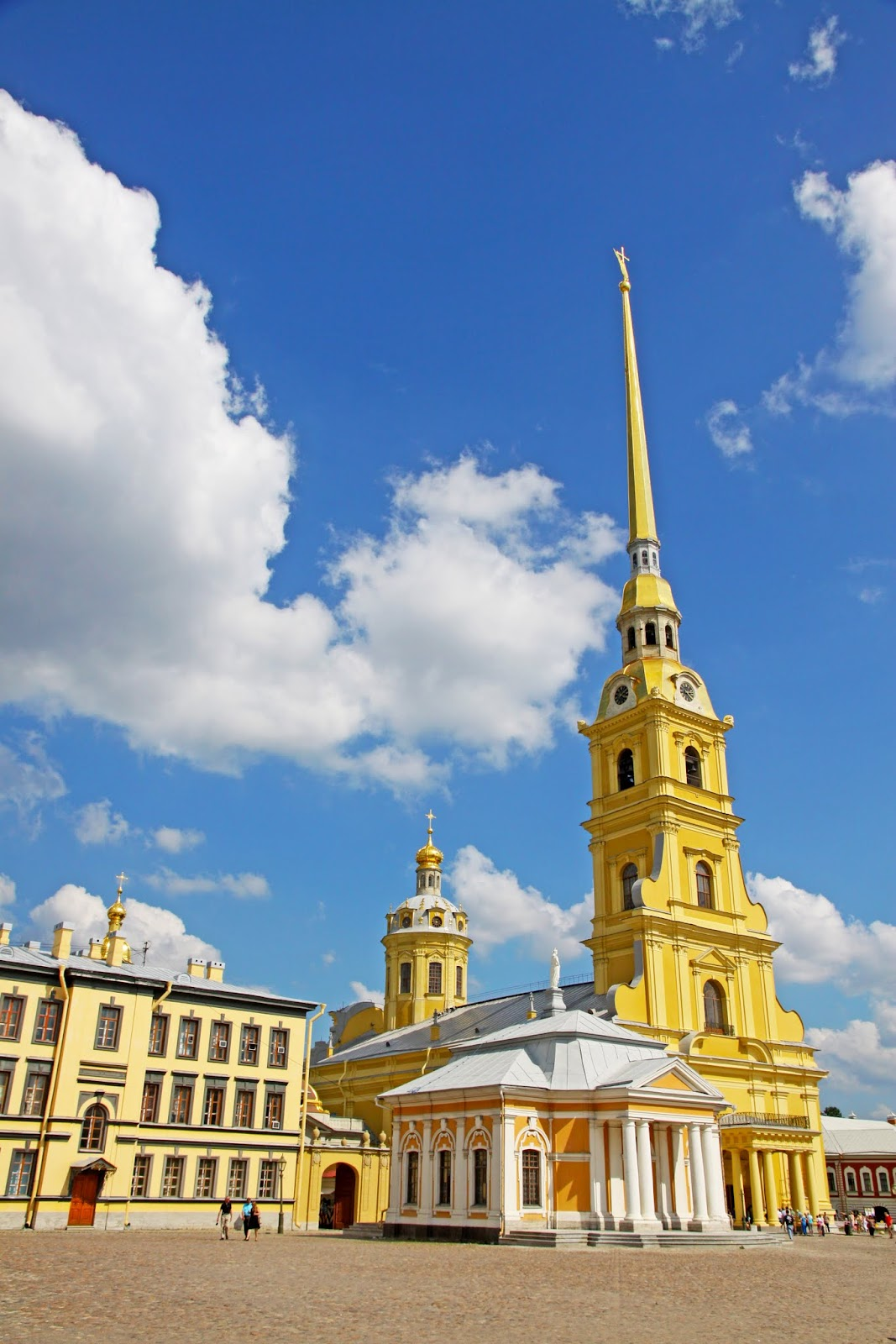 Peter And Paul Cathedral St Petersburg Russia James