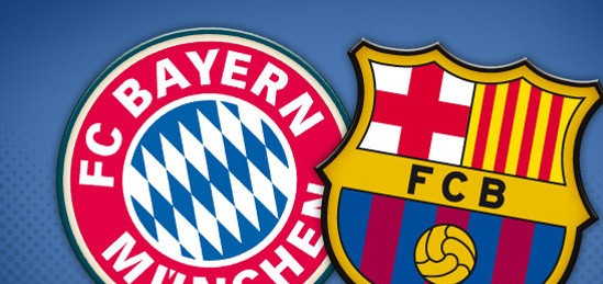 FC Barcelona vs FC Bayern Munich Live Stream Champions League 2013 Semi Final