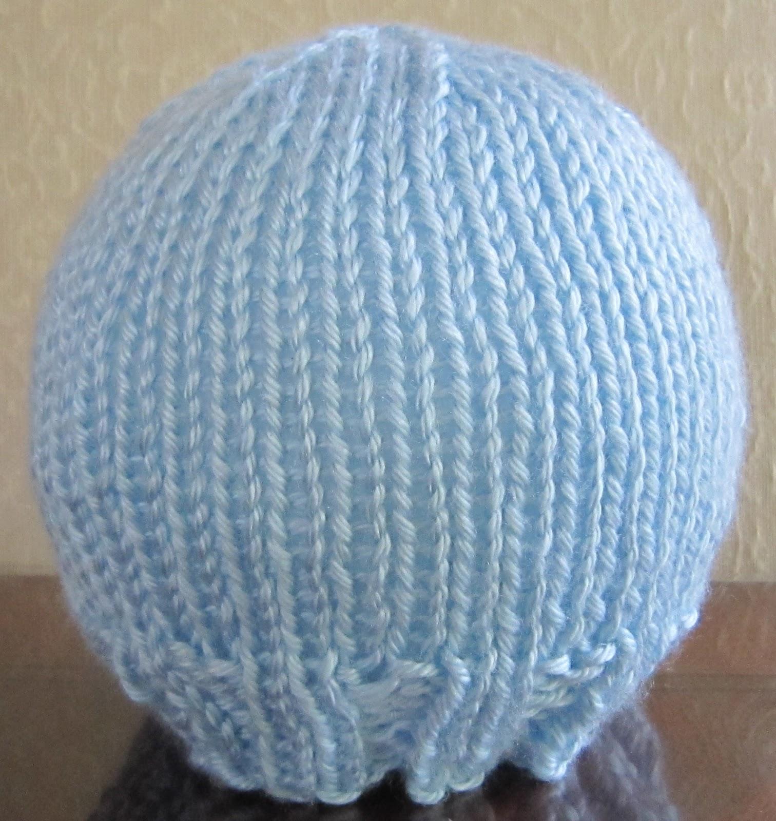 Sea Trail Grandmas: FAST AND EASY Newborn Hat Knit Pattern