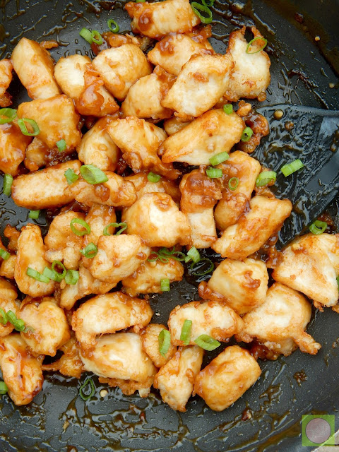 crispy orange chicken (sweetandsavoryfood.com)