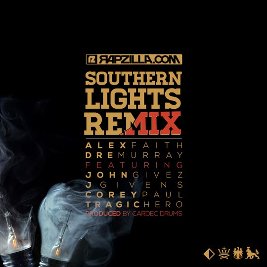 Southern Lights (Remix) single artwork