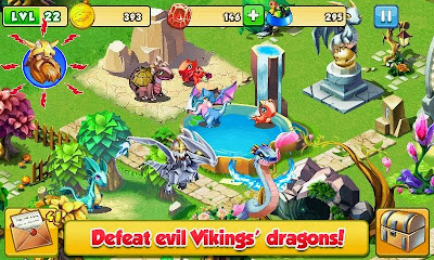 Free Download Dragon Mania Mod Unlimited Money Apk