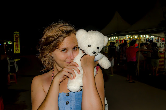 Chilpo Jazz Festival Shooting Prize Teddy Bear Pohang South Korea