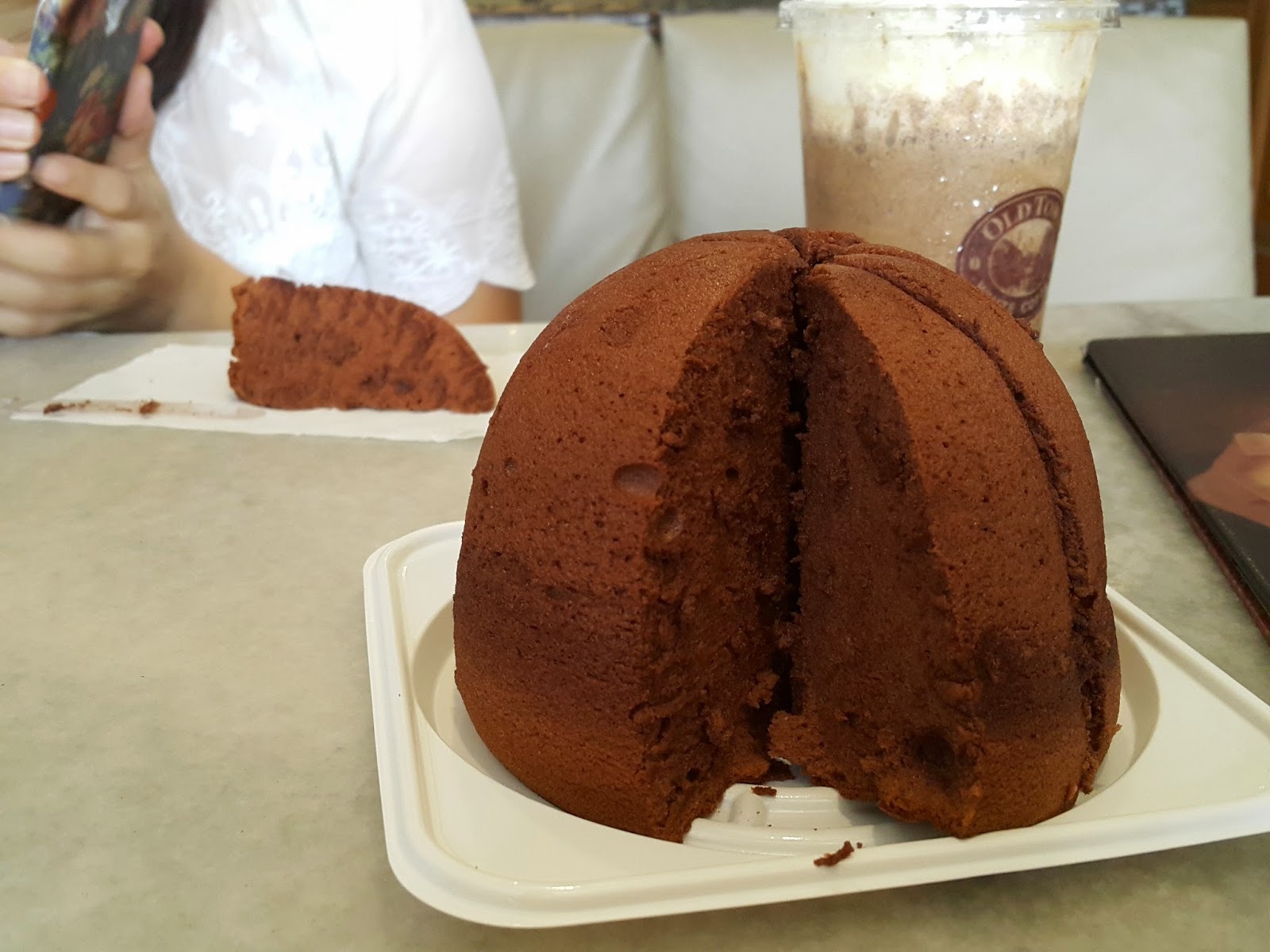 Michelle Noms: Uncle Tetsu's Cheese Zuccotto Cake