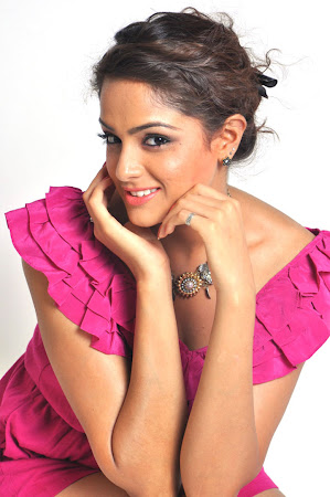 cute naughty beauty Asmita sood in pink short dress photo shoot gallery