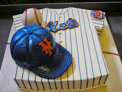 NY Mets Groom's Cake