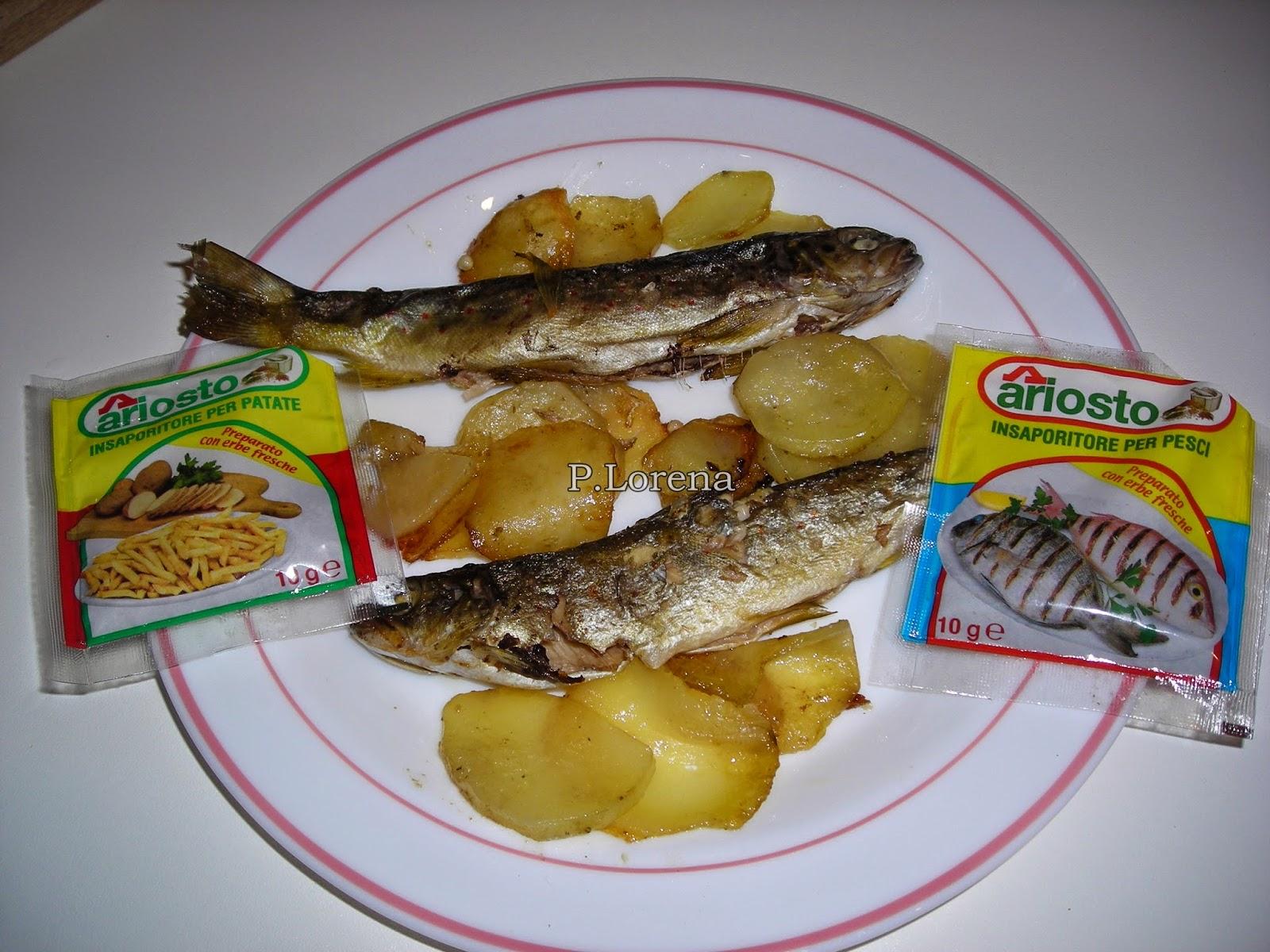 Insieme a me trote e patate al forno - Forno e microonde insieme ...