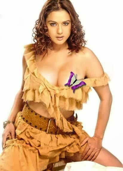 Prity Zinta in big boobs