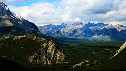 banff national park alberta rocky mountains travel photography
