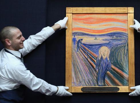 "Munch, ""The Scream,"" (pastel version)"