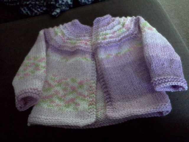 9bf28487b672 Blooming Lovely  Finished Object - 5 Hour Baby Sweater