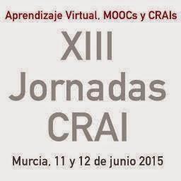 """""""XIII Jornadas CRAI""""."""