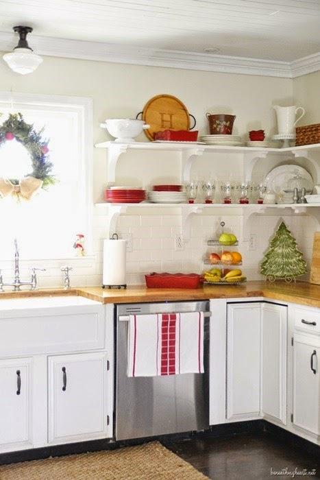 christmas kitchen beneath my heart