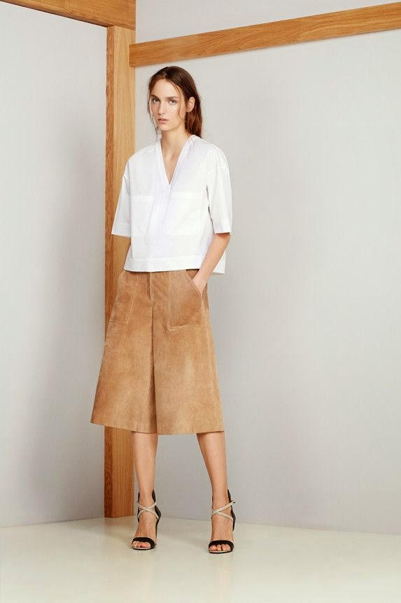 70 style suede skirt