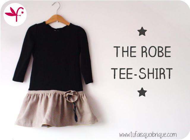 Robe Tee-Shirt pour les journées d'Automne