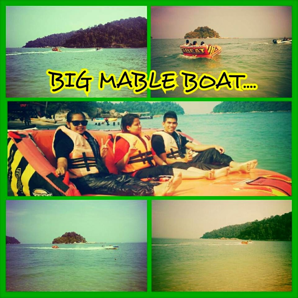 HOLIDAY 2014 : THE PANGKOR PROJECT (BIG MABLE BOAT)