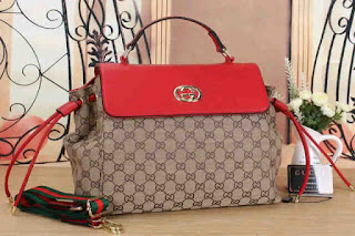 Tas KW Gucci Kelly Kanvas Semi Premium 343YZ Jakarta