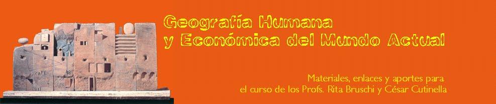 Geografía Humana y Económica del Mundo Actual