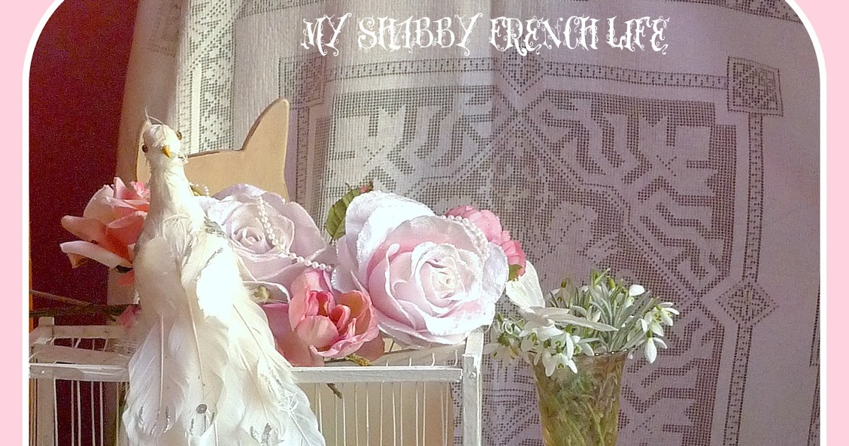 my shabby french life un blog shabby chic francais. Black Bedroom Furniture Sets. Home Design Ideas