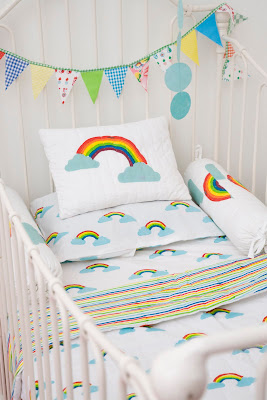Lulu & Nat | Toddler Bedding | Rainbow