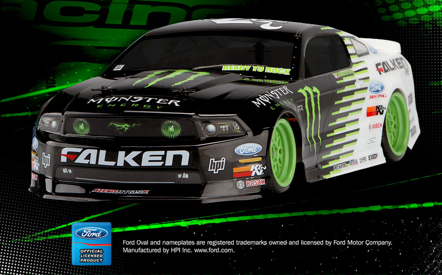 Hpi E10 Ford Mustang Gt Monster Energy Rc Cars Photos