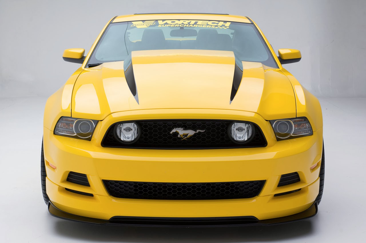 SEMA-bound 'Yellow Jacket' Mustang