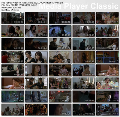 Whispers and Moans (2007) DVDRip HK Movie 700 MB Download