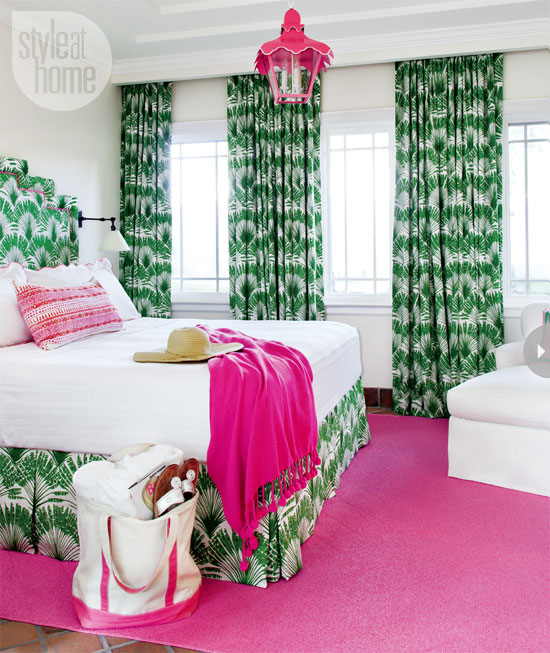 Light Living Interior Design: Interior: Tropical and preppy Miami ...