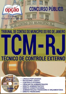 Apostila Concurso TCM/RJ 2016 (Download PDF)