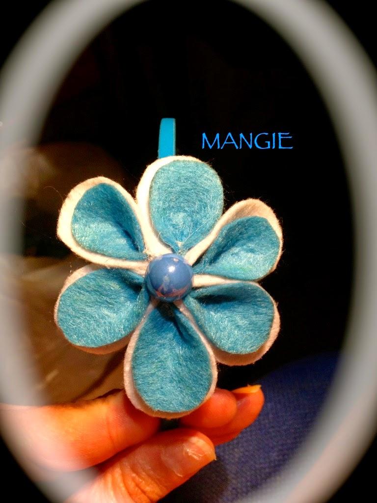 Diadema flor celste