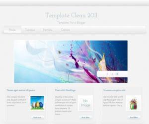Super Clean Blogger Template