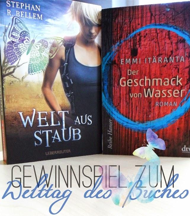 Cover des Gewinnspiels zum Welttag des Buches 2015
