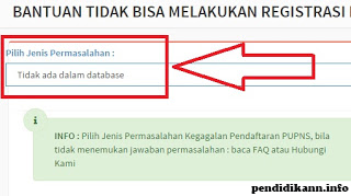 Cara mengatasi NIP tidak ada dalam database e-PUPNS