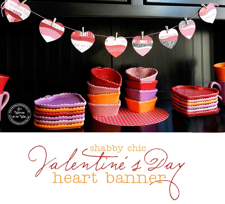 Cute Valentine's Day Decoration-Shabby Chic