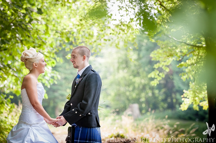 Wedding Photography At Friars Carse Hotel
