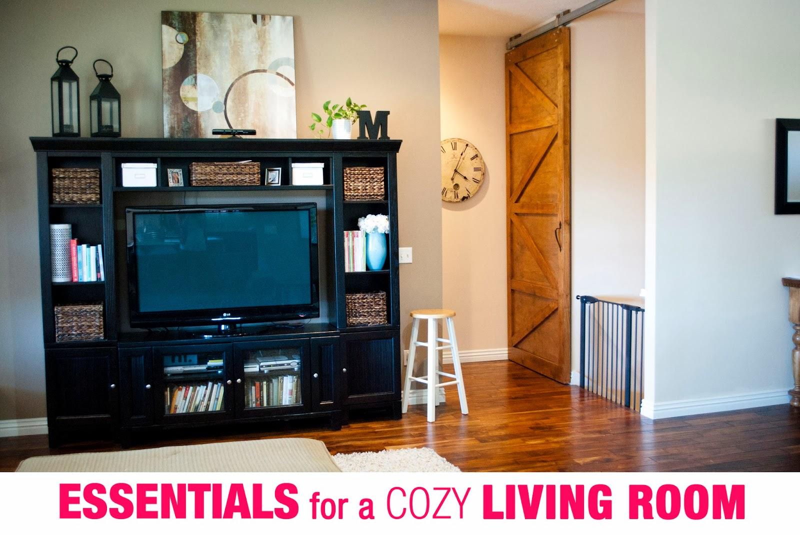 Interior fun essentials for a cozy living room for Living room essentials