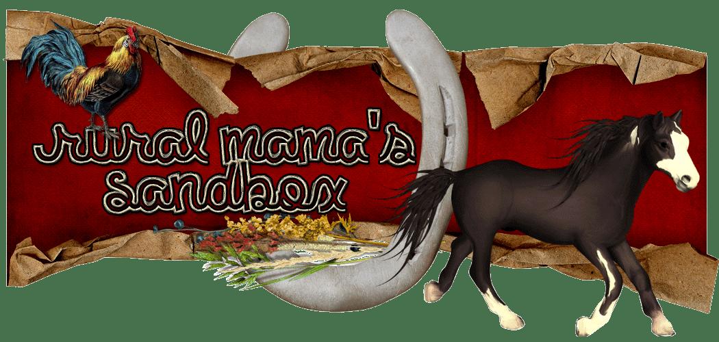 Rural Mama's Sandbox