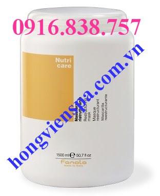 Hấp dầu Fanola Nutri Care - Chuyên gia chăm sóc, tái tạo và phục hồi tóc hư tổn