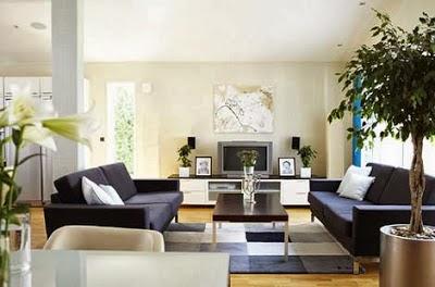 tips dekorasi ruang tamu untuk rumah minimalis modern