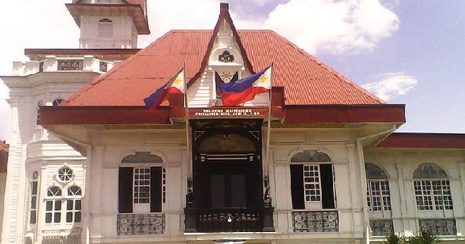 aguinaldo shrine Aguinaldo shrine located in kawit cavite, aguinaldo shrine once served as residence to emilio aguinaldo, the first president of the republic of the philippines after.