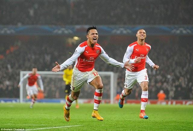 Champions League: Arsenal chính thức đoạt vé vào vòng 1/8