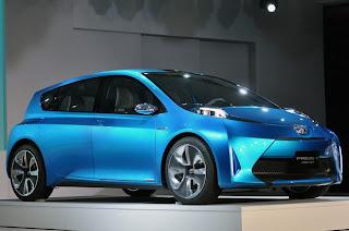 2012 Toyota Prius C WallPaper | Toyota Prius Picture | Image | Blue | White