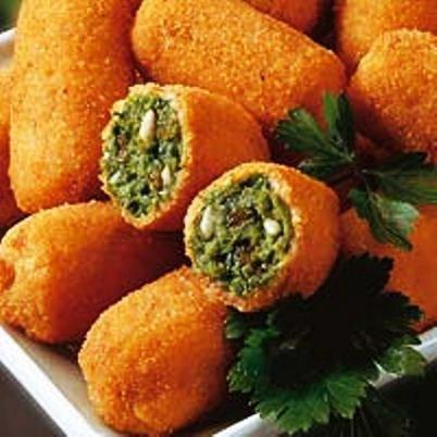 Recetas De Cocina Con Espinacas | Croquetas De Espinacas Recetas De Cocina Cubana Y Postres Deliciosos