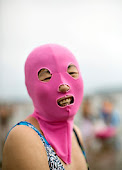 Beach Essentials in China: Flip-Flops, a Towel and a Ski Mask