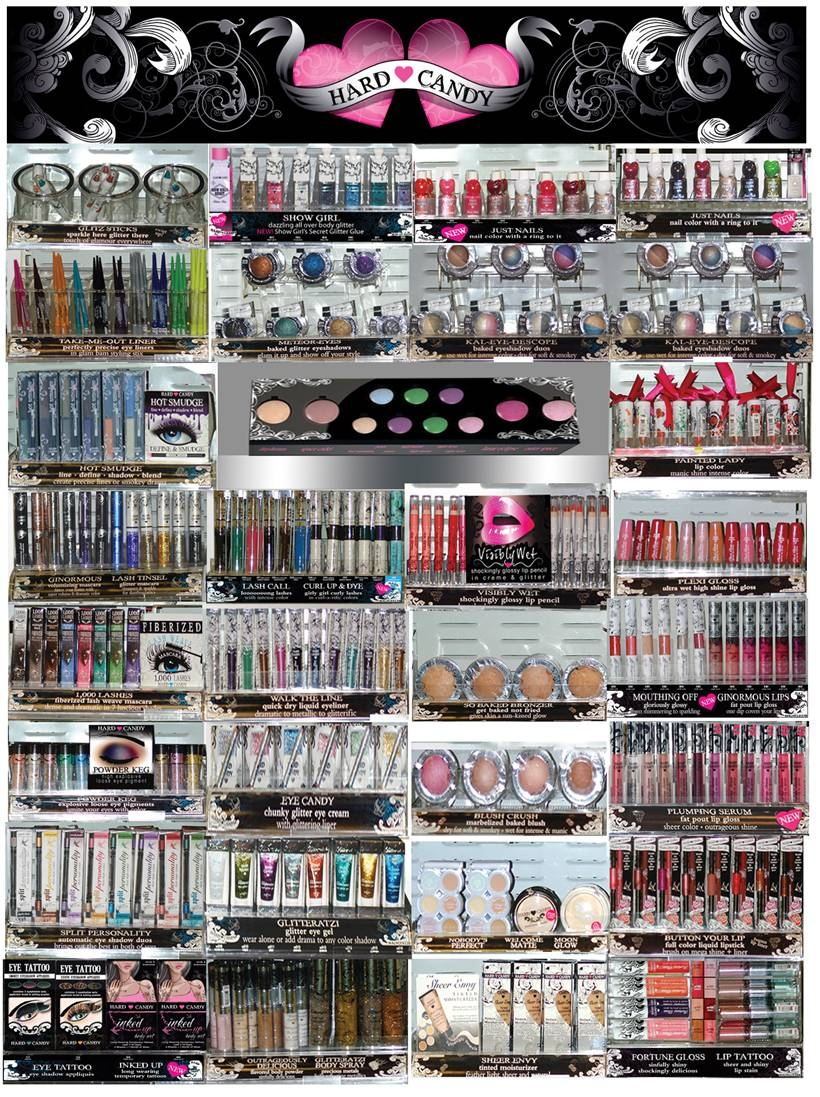 out with the old in with the new hard candy discontinued products moms makeup stash. Black Bedroom Furniture Sets. Home Design Ideas