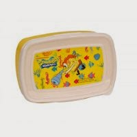 SpongeBob Square Pants - Kids Plastic Lunch Box worth Rs. 129 @ Rs. 38 at Amazon.in