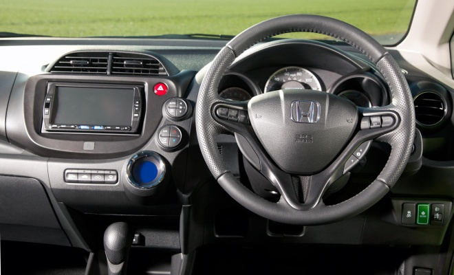 Honda Jazz Hybrid dashboard