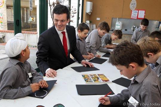 Steve Fiet, the new principal at Hereworth School, Havelock North. photograph