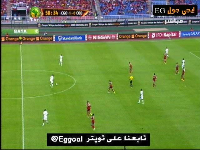 اهداف مقابلة الكونجو و جمهورية الكنجو 4-2   ربع نهائى كأس افريقيا    31-1-2015